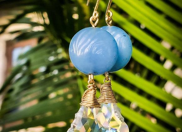 SERENITY Agate Crystal Earring