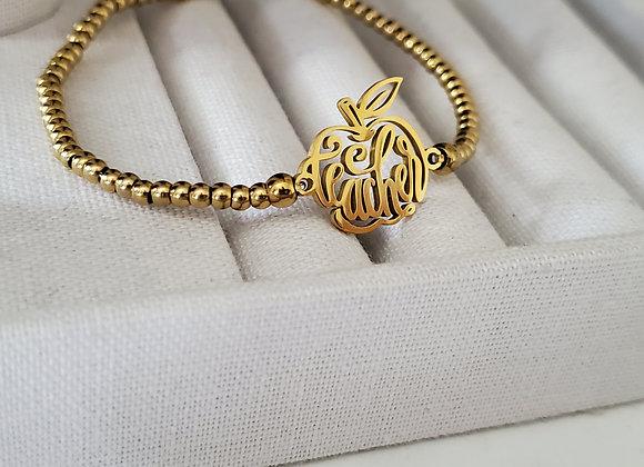 Special Design Teacher Beaded Bracelet