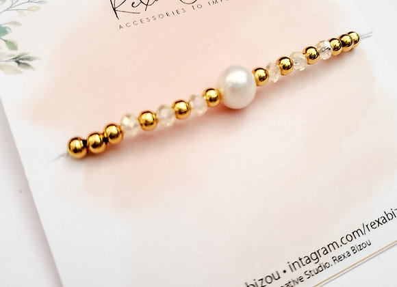 Pearl Beaded Barcelet