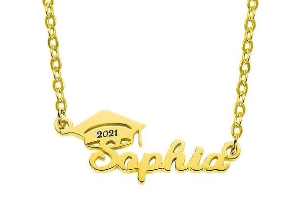 Graduation Custom Name Necklace