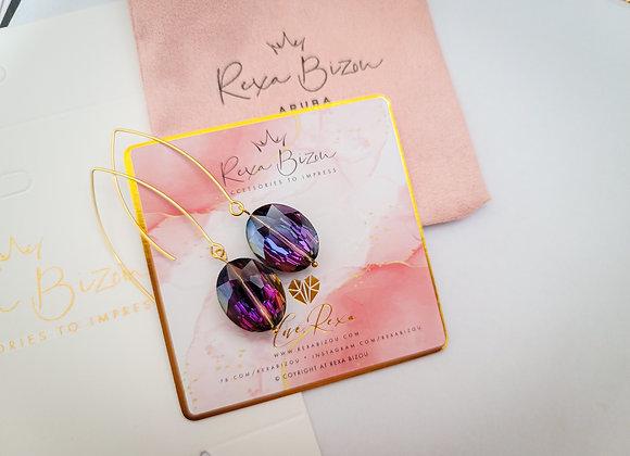 Prety in Purple Earring