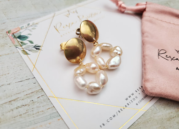 Pearl Ring Earring