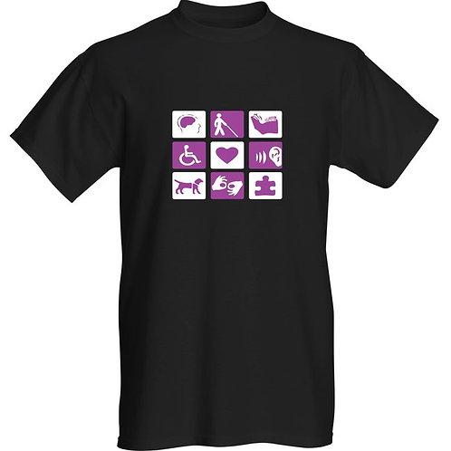 Disability Symbols T-Shirt