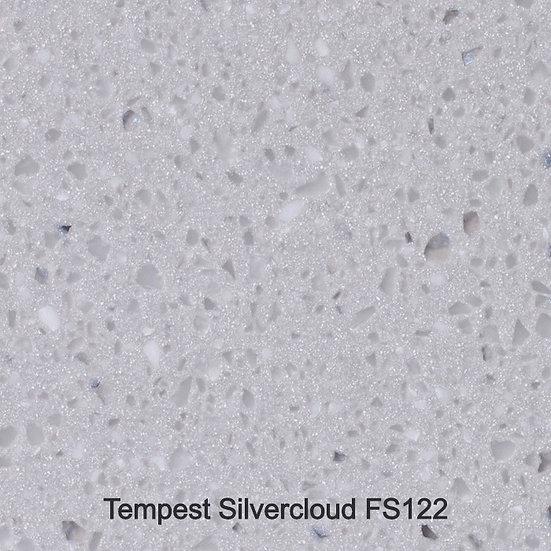 12 mm Staronplatte Tempest Silvercloud FS 122