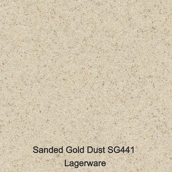 12 mm Staronplatte Sanded Gold Dust SG 441