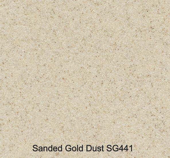 12 mm Staronplatte Sanded Gold Dust SG 421