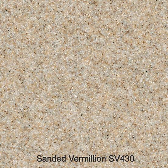 12 mm Staronplatte Sanded Vermillion SV 430