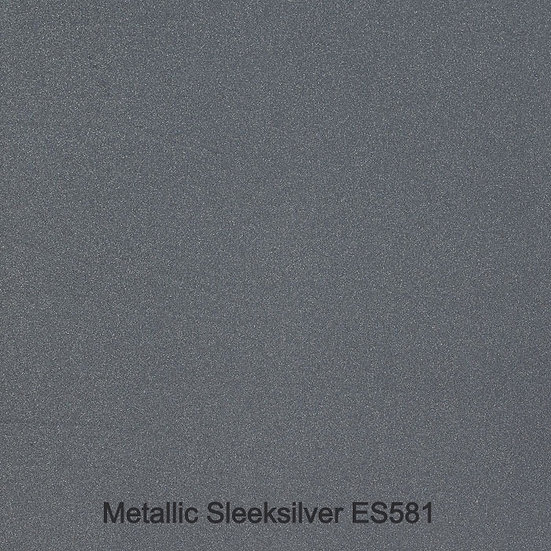 12 mm Staronplatte Matellic Sleeksilver ES 581