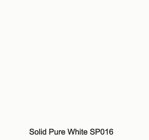 6 mm Staronplatte Solid Pure White SP016