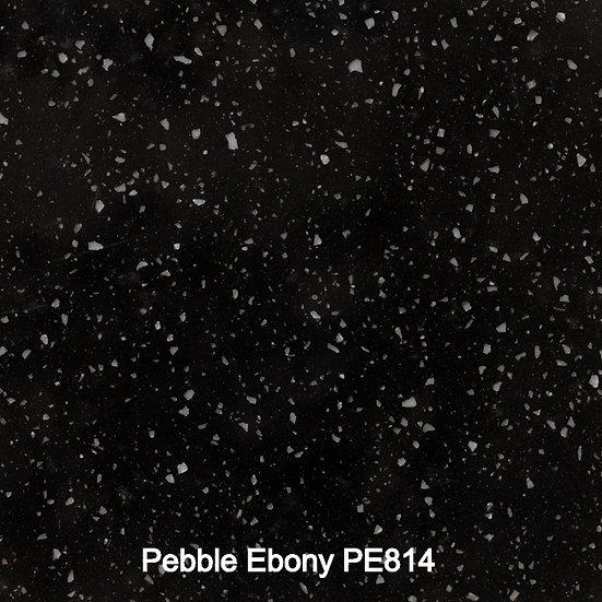 12 mm Staronplatte Pebble Ebony PE 814