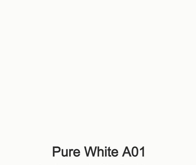Pure White  A01