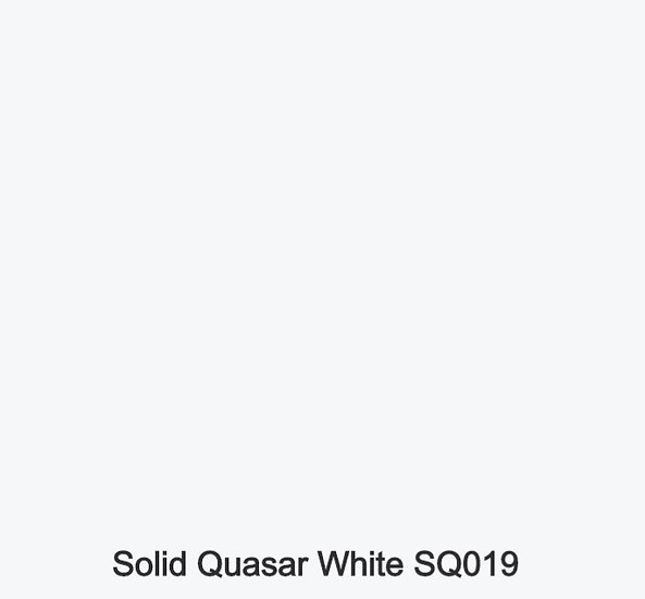 12 mm Staronplatte Solid Quasar White SQ 019