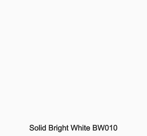 6 mm Staronplatte Solid Brigth White BW 010