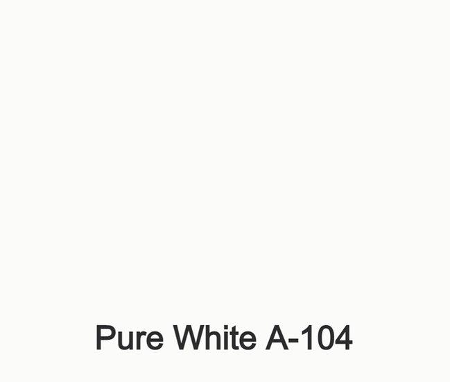 Pure White  A-104