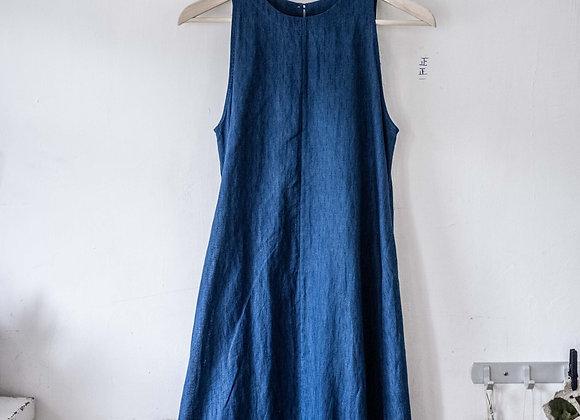 CUMO 半身深藍圍裙