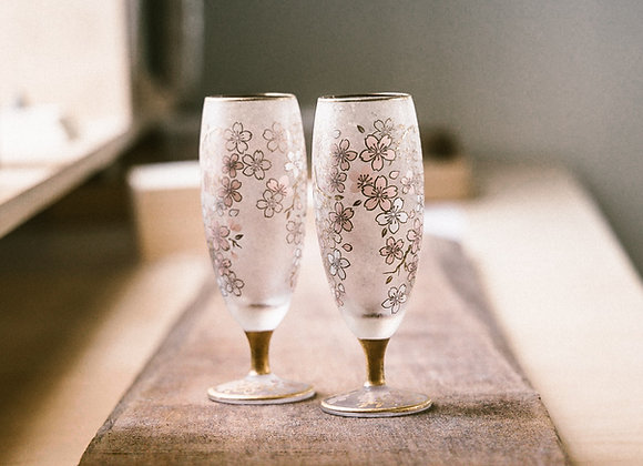 EL DORADO 金色櫻花清酒對杯組