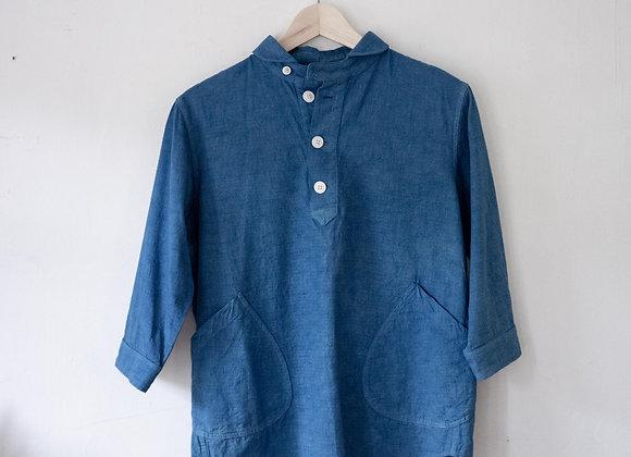 麻質襯衫長袖