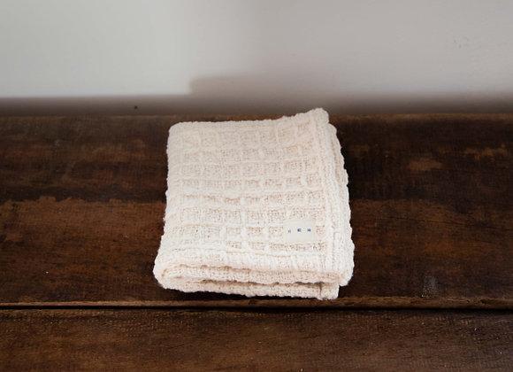 日本無垢和紡棉小毛巾