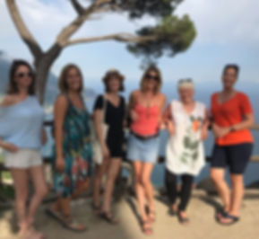 Ravello, women, minding less, yoga, excursions, retreats, escape, travel, experience