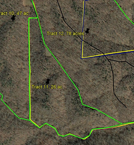 Tract 11 land for sale by KY Whitetail Land Co Properties.