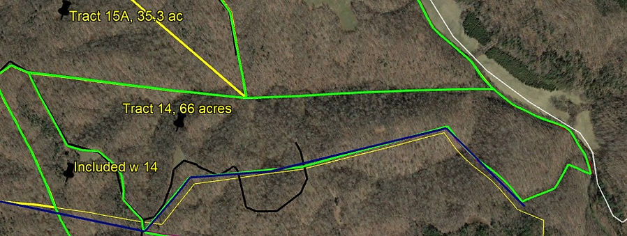 Tract 14 acres Tract 11 land for sale by KY Whitetail Land Co Properties.