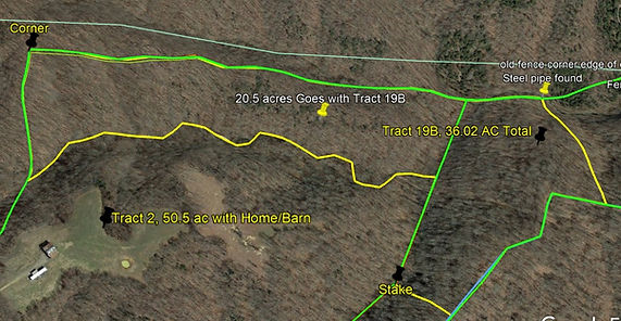 Tract 19b deer and turkey hunting land for sale by KY Whitetail Land Co Properties in Kentucky.