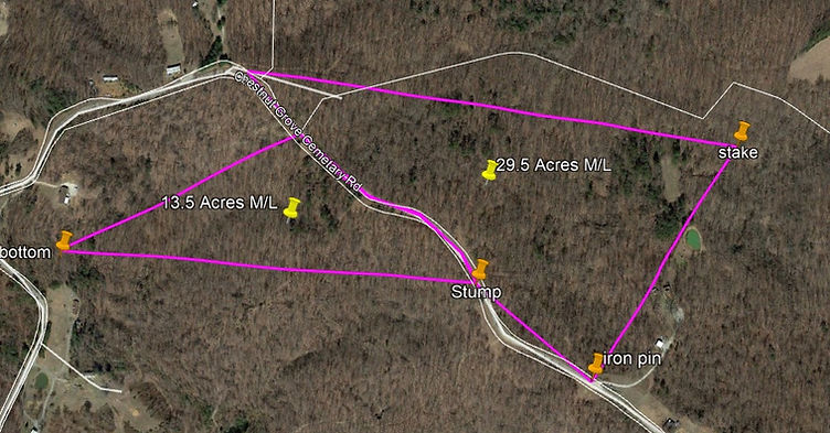 43 Acres with home building sites in Hart County, KY.