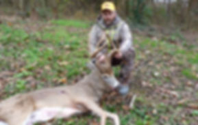 A whopper non-typical buck killed by Brian Miller.