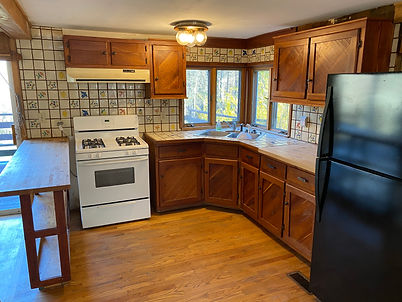 A picture of the kitchen with the home for sale at 1184 Rocky Hill Rd, Munfordville, KY  42765.