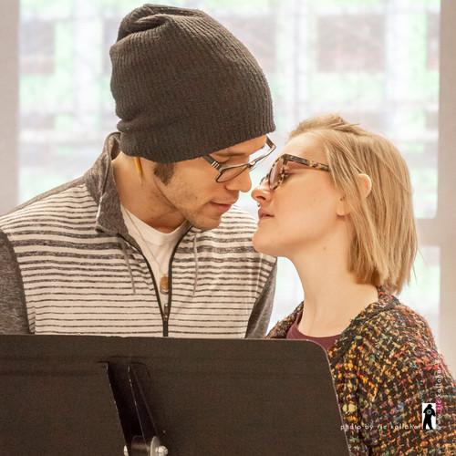 "Rehearsing ""The Wicker Husband"""