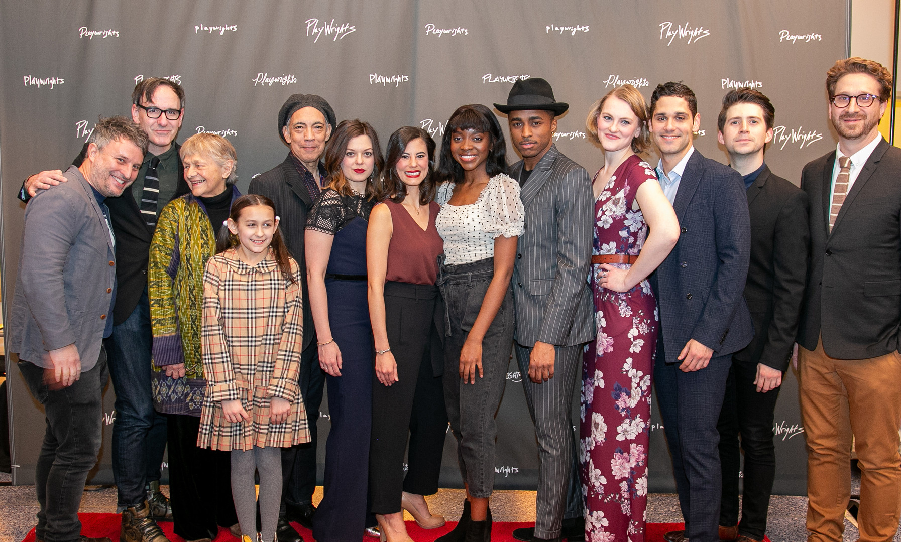 Full Cast on Opening Night