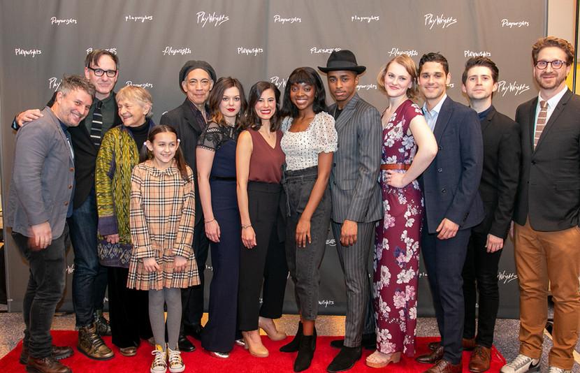 Full Cast on Opening Night