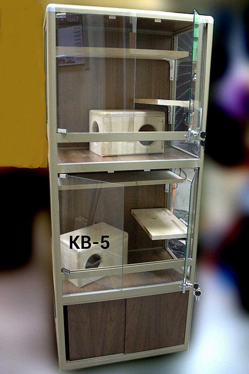 клетка-витрина для шиншилл КВ-5  1700-70