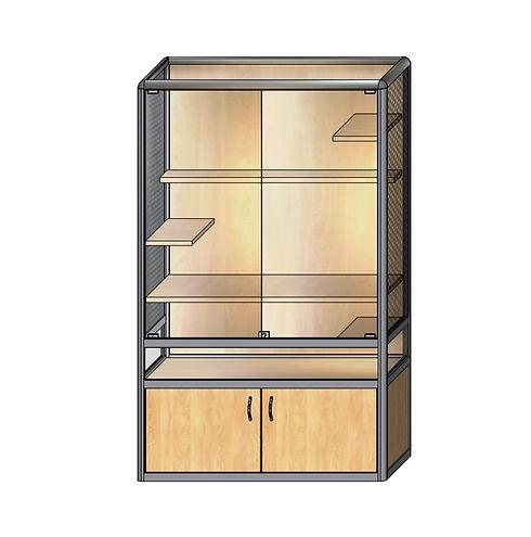 клетка-витрина для шиншилл КВ-10  1300-9