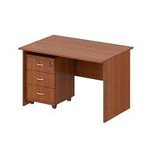 стол офисный с тумбой ДСП- 02 750-1200-6