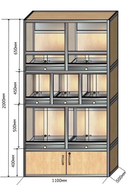 клетка-витрина КВ-23 2000-1100-500 (2).j