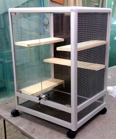 клетка-витрина для шиншилл КВ-14  700-50