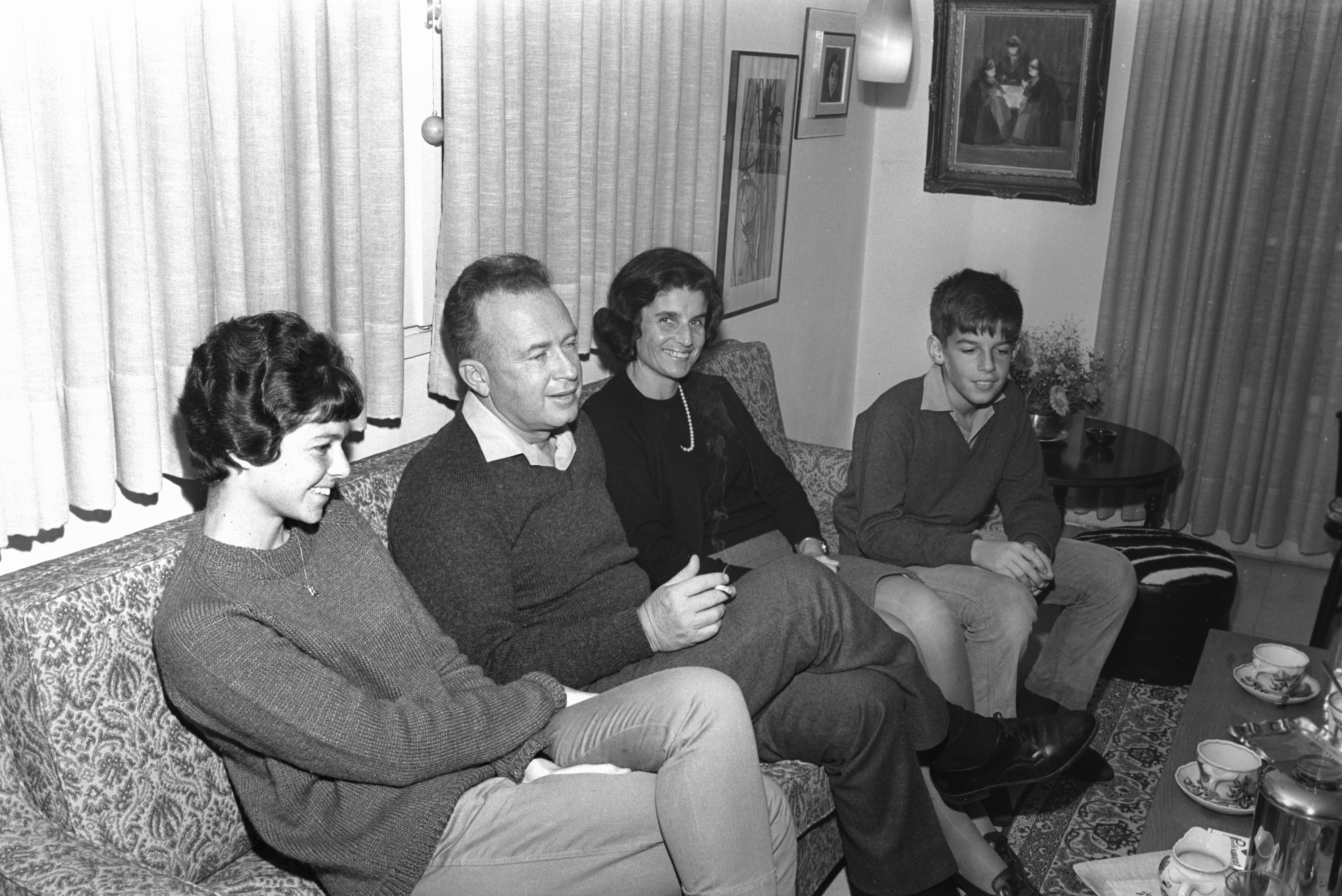 Yitzhak, Lea and their children