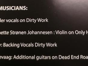 Backing Vocals Credit
