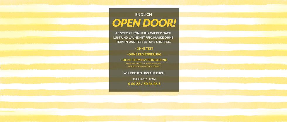 OPEN DOOR! Ab sofort..07.06 Kopie.jpg