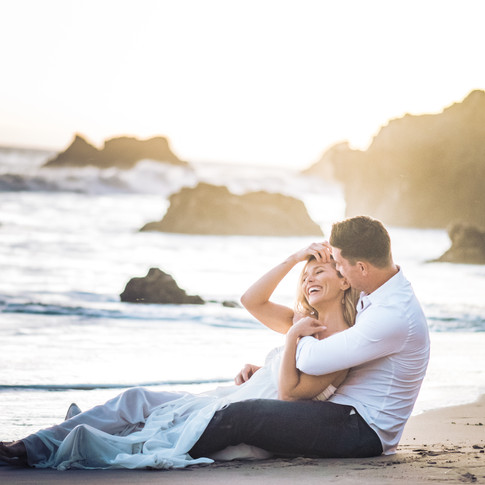 Engagement Beach Shoot