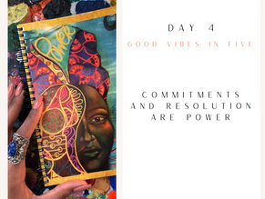 Day 4 | Good Vibes in Five