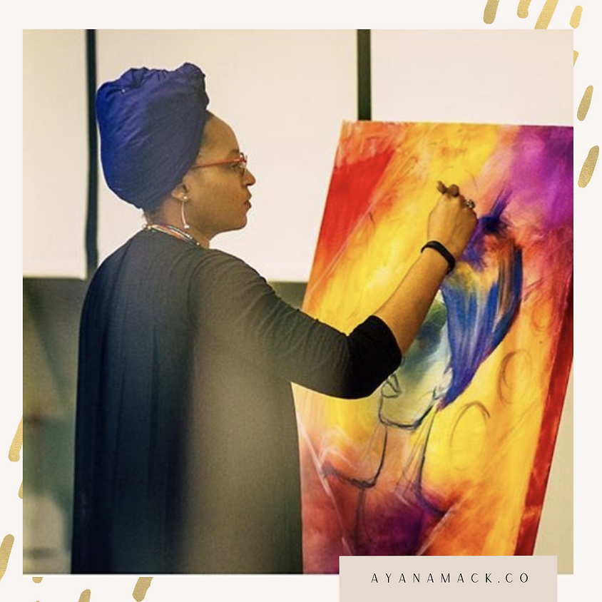CPL Crafts: Portraiture Paint Night with Ayana Mack