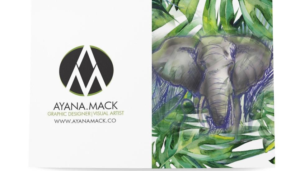 Elephant - Greeting Cards (8 pcs)
