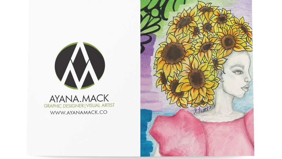 Sunflower - Greeting Cards (8 pcs)