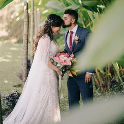💖 #wedding #bride #groom #love #outdoor