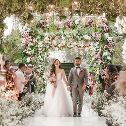 #wedding #flower #bride #groom #dress #l
