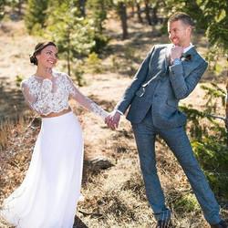 A big congratulations to Becca and Jason