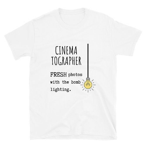Cinematography Bomb Lighting Short-Sleeve Unisex T-Shirt