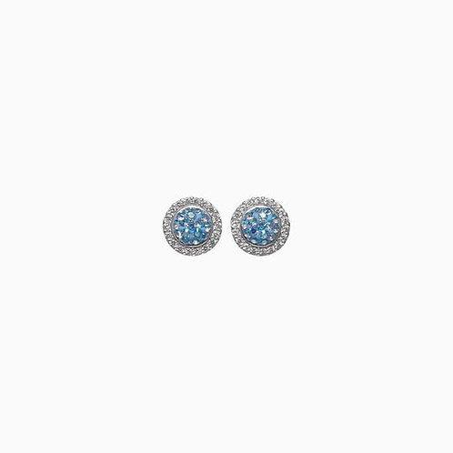 Sparkle Ball Halo Earring by Hillberg & Berk 19SBEB